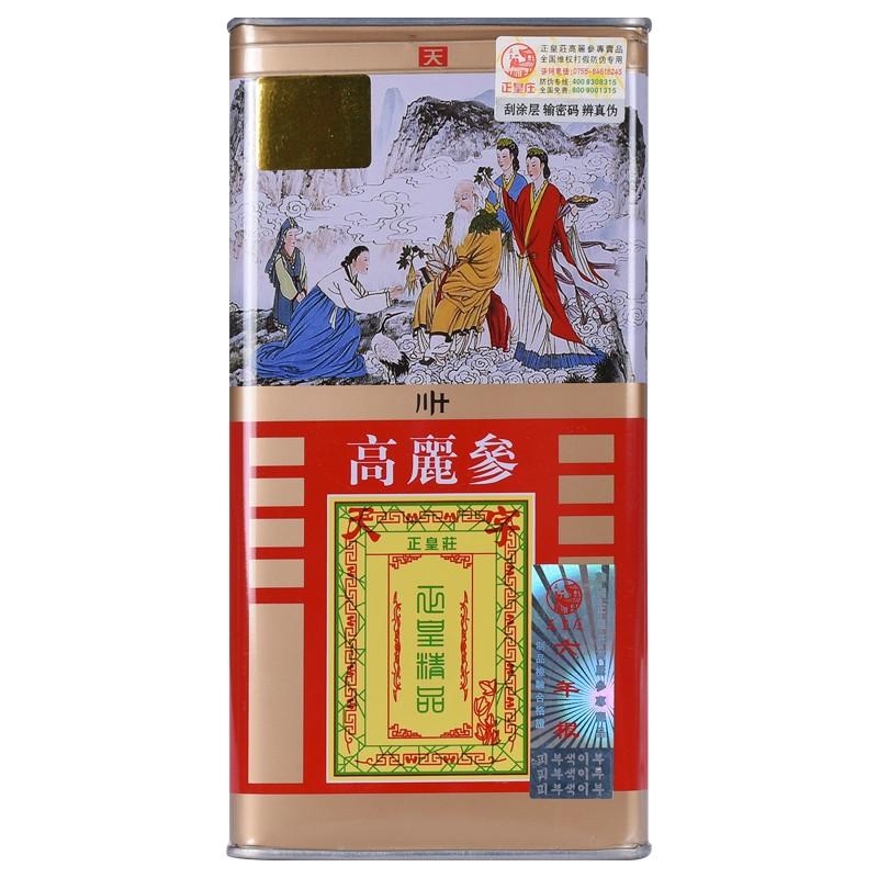 【天】正皇庄  高丽红参(高丽参) 30支*75g
