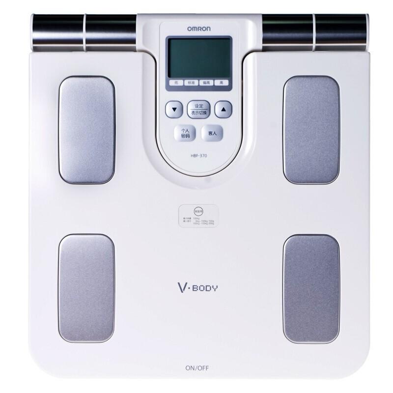 歐姆龍  體重身體脂肪測量器  HBF-370(兼用)